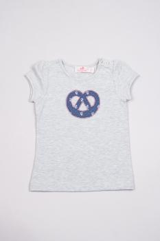 Trachtenkind Kinder Shirt Breze blau