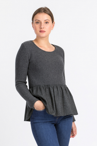 Boos Pullover 6395 anthra