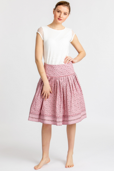 Berwin&Wolff Trachtenrock 405005-218 rosa geblümt