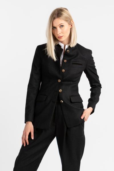 Gottseidank Damen Jacke Yoko A000543-605 schwarzblau