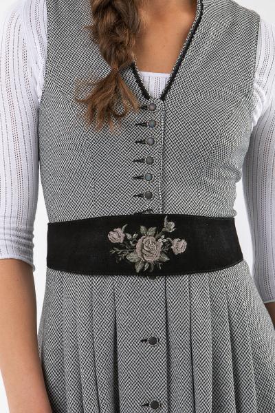 Marjo Ledergürtel Dafne schwarz