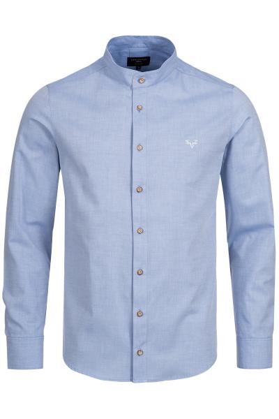 Slim Fit Trachtenhemd Finley blau