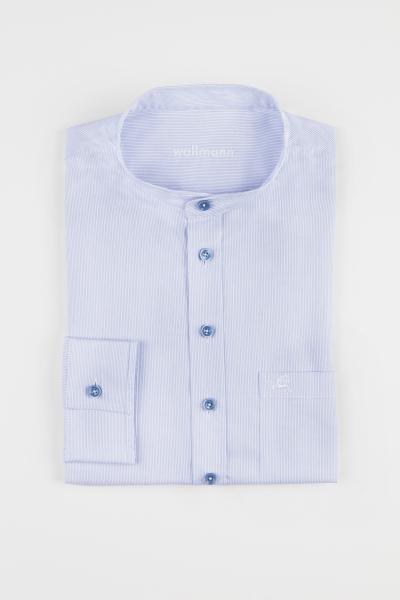 Wallmann Trachtenhemd 2013651 blau gestreift