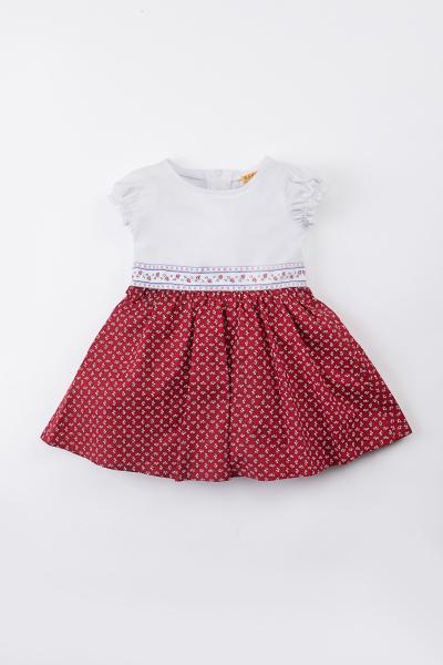 Berwin&Wolff Kleid 59552-8832 weiß/rot