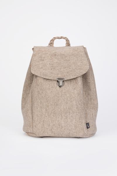 Taschen fürs Leben Rucksack Klara taupe