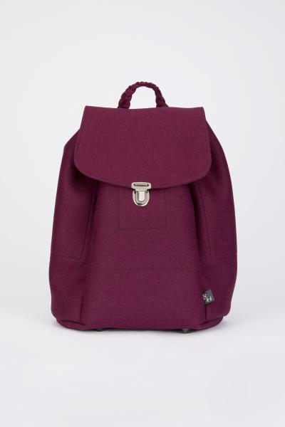 Taschen fürs Leben Rucksack Klara beere