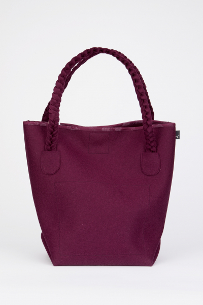 Taschen fürs Leben Shopper Betty beere