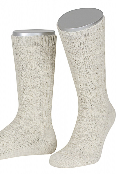 Lusana Herren Socken L5697-14 sand