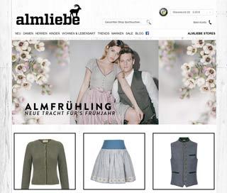 Almliebe Shop Startseite