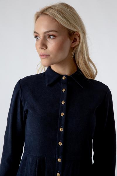 Trachtenkleid Bella schwarzblau