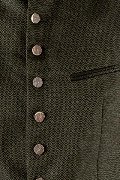 Trachtenweste Konstantin bronzegrün