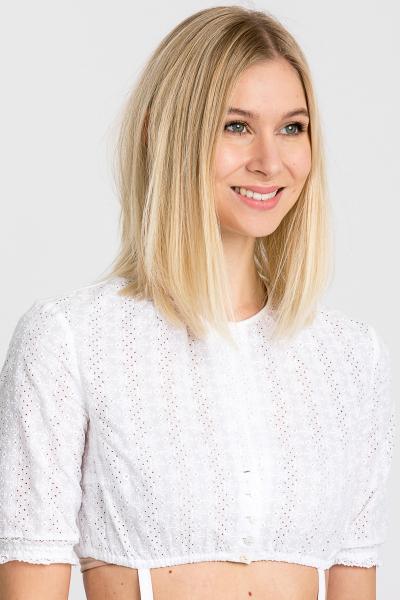 Gottseidank Dirndlbluse Ursula elfenweiß B52+K6 weiß