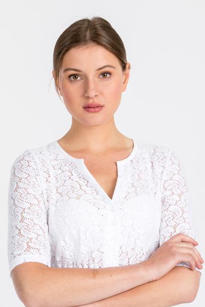 Hammerschmid Damen Dirndlbluse Gerlinde 2945-00 weiß