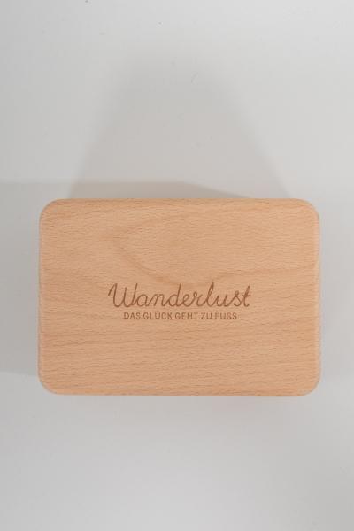 Wanderlust Brotbox Buche A014