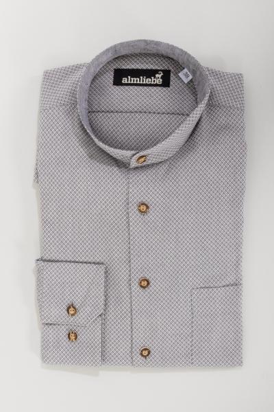 Arido Trachtenhemd 2909 3078-32 grau