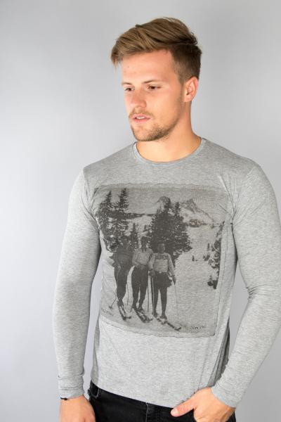 Phil Petter Shirt 1068625 grau