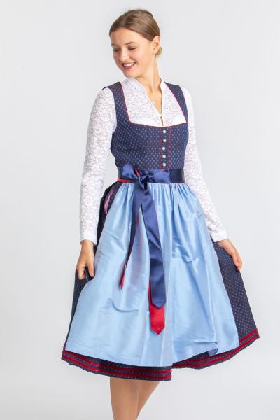 Amsel Damen Dirndl Rabea 192005 blau