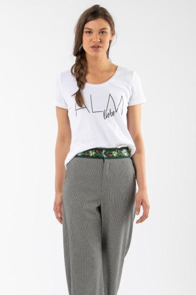 T-Shirt Jochberg mit Print Alm