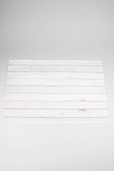 Mars & More Fußmatte RARMHW Holz weiß