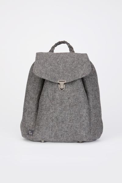 Taschen fürs Leben Rucksack Klara grau
