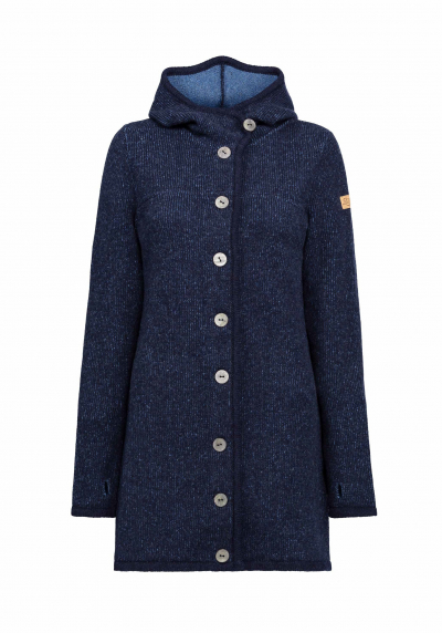 Liebling Kapuzenjanker Benedikta light navy/jeans