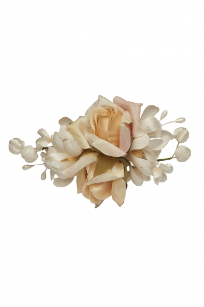 Schönes Fräulein Blumen-Haarclip Ava