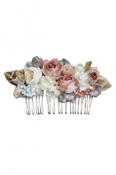 Schönes Fräulein Blumen-Kamm Sarah rose