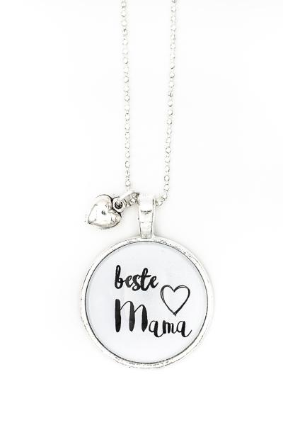 handg'macht mit Liebe Spruchkette beste Mama 213